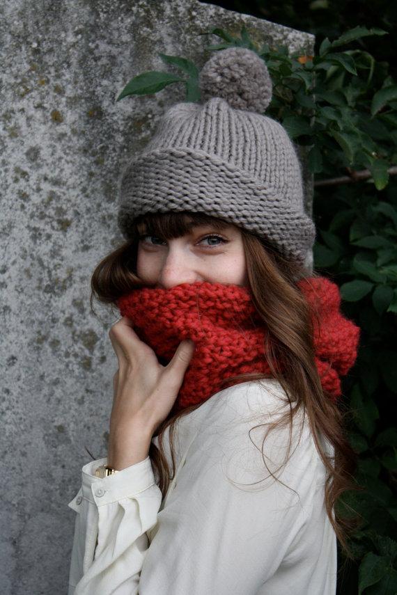 Knitting makes you feel warm inside