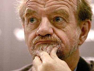 Yeah, we know, it's the late Robin Cook. But we literally cannot bear to look at ATW's face.