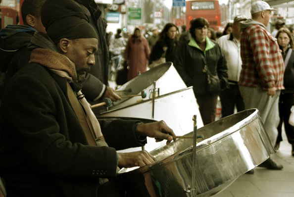 Brixton steel drums