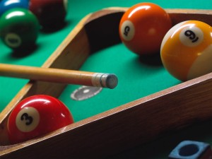Stock picture of 'pool'