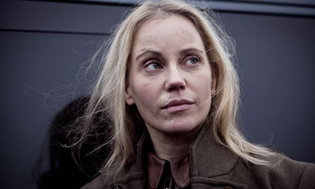 Sofia Helin as Saga Noren in The Bridge